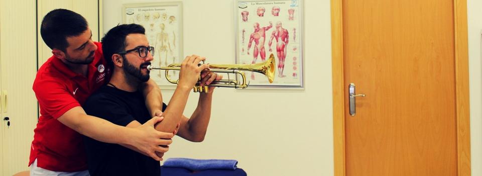 Fisioterapia para músicos - Clínica David Marcos