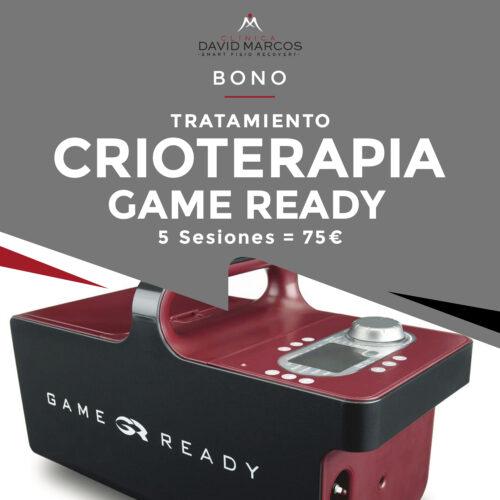 Bono 5 sesiones - Tratamiento crioterapia Game Ready