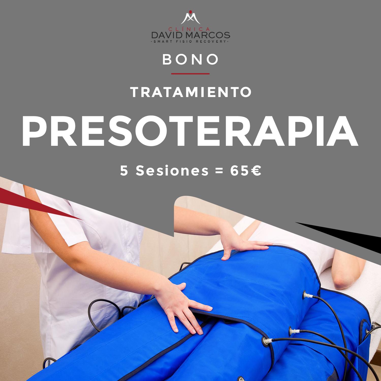 Bono Tratamiento Presoterapia (5 sesiones)