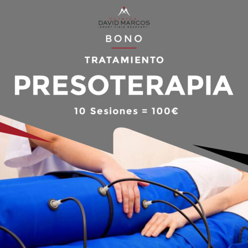 Bono Tratamiento Presoterapia (10 sesiones)